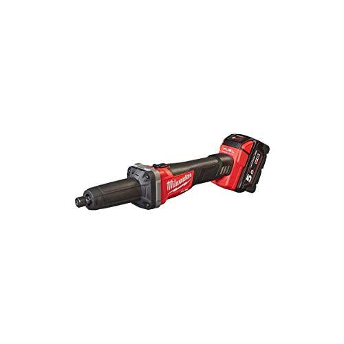 Milwaukee 0 slijper Fuel M18 fdg-502 x – 2 accu's 18 V 5,0 AH – 1 oplader M12 – 18 FC 4933459107, rood