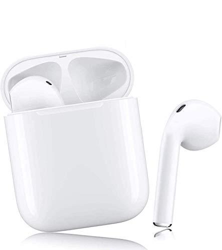 Écouteurs sans Fil Bluetooth avec réduction de Bruit,Bluetooth 5.0 écouteurs Sportifs avec IPX7 Écouteurs stéréo étanches dans l'oreille Intégré HD Mic Casques, avec étui de Chargement Portable …