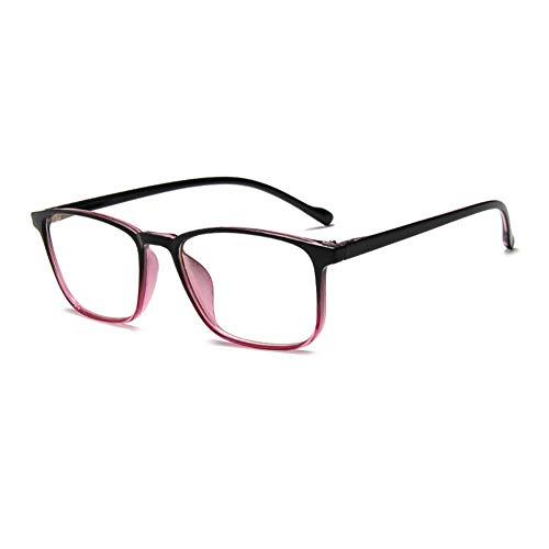 EYEphd Gafas Lectura Inteligentes Doble Enfoque Anti-luz Azul, Lector Lente Resina asférica con Zoom automático Alta definición Adecuado para Conducir/Caminar dioptrías +1.0 a +3.0,02,+1.5