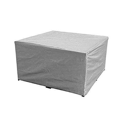 Yardwe coperture per mobili da Giardino per Esterni Set di mobili Resistenti per Esterni Resistenti copritavolo Quadrato e sedie (160 x 160 x 80 cm)