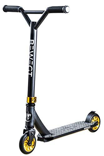 BEWEGT Evoattack Jr. Stuntscooter Scooter Freestyle Kickscooter Roller 110 mm Aluminium Rollen ABEC 9 Mini Scooter ab 4 Jahren Kleinkinder 74 cm Gesamthöhe