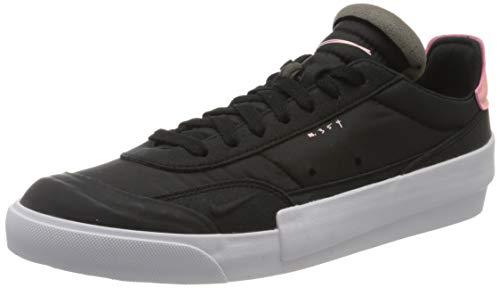 Nike Drop-Type, Chaussures de Tennis Homme, Multicolore (Black/Pink Tint/White/Zinnia 1), 40 EU