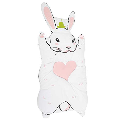 Children Play Mat, Bunny Shape Baby Game Blanket, PP Cotton Baby Crawling Mat Thicken Infant Cartoon Rabbit Crawling Carpet for Home Room Nursery Decor(Soft, Skin‑Friendly, Comfortable)(Rabbit)