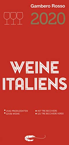 Vini d'Italia del Gambero Rosso 2020. Ediz. tedesca
