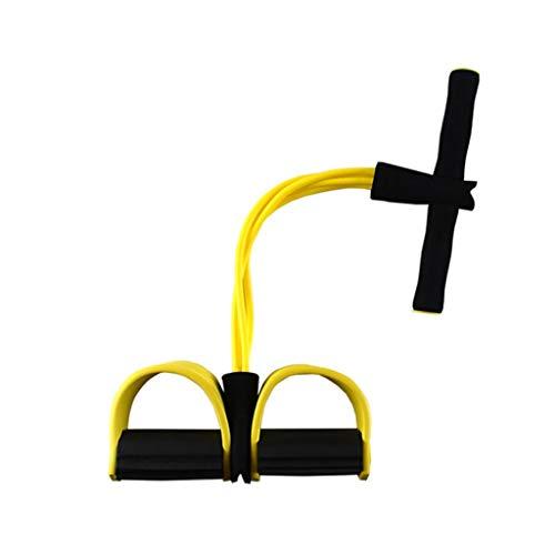 LHT Abdominales SIDA Pedal Rally de aparatos de Ejercicios Cuerda Deportes Que Adelgaza la Cuerda Yoga Elastic Band Máquinas de Brazo (Color : E)