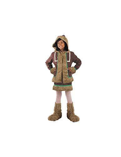 DISBACANAL Disfraz Esquimal niña - -, 8 años