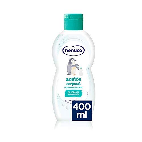 Nenuco - Aceite Corporal Hidratante para Bebé, Fragancia Original, Hidratación Profunda - 400 ml
