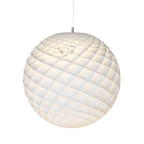 Patera ⌀ 450, max. 60W, E27, Louis Poulsen, Pendelleuchte Entworfen von Øivind Slaatto (Weiß, ⌀ 450)