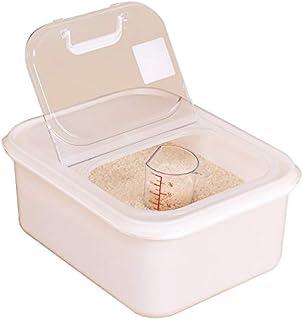 Pots et bocaux de conservation Boîte De Riz De 3kg Stockage De Farine Récipient De Nourriture De Haricot Fournitures De Cu...