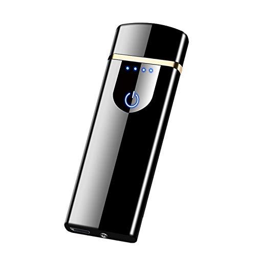 SADSA Feuerzeug USB Plasma Feuerzeug Touch Induktion Winddichtes elektrisches Feuerzeug Elektronisches Ladefeuerzeug ZigarettenfeuerzeugSuper Thin Lightr