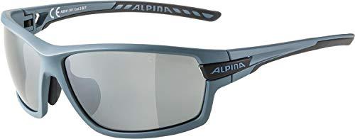 ALPINA Unisex - Erwachsene, TRI-SCRAY 2.0 Sportbrille, dirtblue-matt, One size