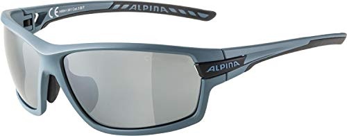 ALPINA Unisex- Erwachsene, TRI-SCRAY 2.0 Sportbrille, dirtblue matt, One Size