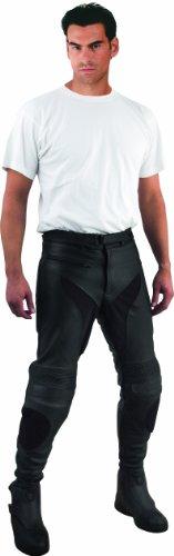 Roleff Racewear Lederhose Unisex, Schwarz, Größe 56