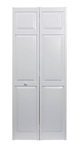 LTL Home Products SEAPP24 Seabrooke PVC Raised Panel Interior Bifold Door, 78.625' x 23.5', White