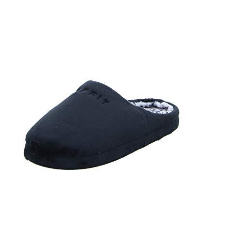 ESPRIT Damen Stitchy Mule Pantoffeln, Schwarz (Black 001), 38 EU