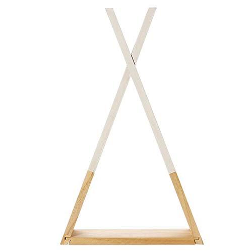 SODIAL Estantería De Libro De Almacenamiento Triangular