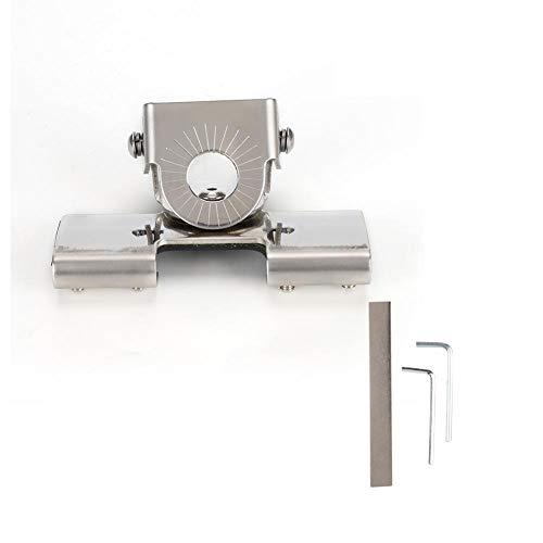 Lipbeugel NMO-beugel, antennebeugel voor automotive mobiele antenne Lipbeugel, roestvrijstalen beugel Bodemclip Achterklep Achterklepbeugel Geschikt voor achterklep / achterkleprandbeugel