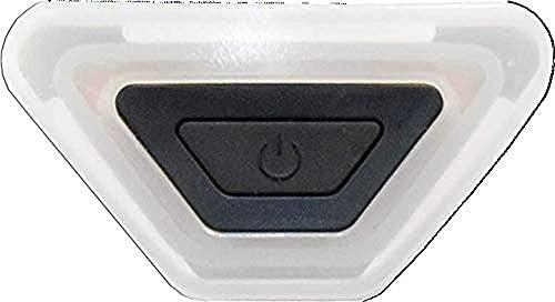 ALPINA Unisex - Erwachsene, PLUG-IN-LIGHT III Fahrradhelmlicht, transparent, One size