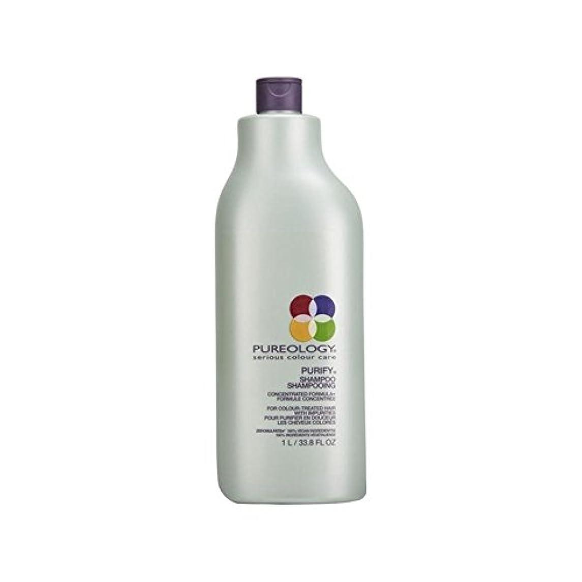 キリスト子猫ベーカリーののシャンプー(千ミリリットル) x4 - Pureology Purify Shampoo (1000ml) (Pack of 4) [並行輸入品]