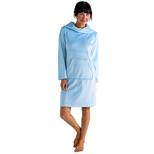 Softies Ultra Soft Snuggle Lounger with Cowl Neck and Kangaroo Pocket