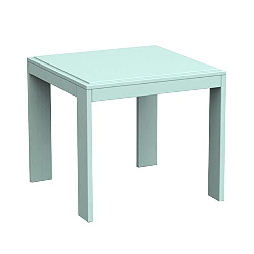 Mesa de Centro Mesa de lateral de mesa cuadrada moderna Sofá Sofá Mesa de centro de mesa pequeña mesa de comedor Mesa de muebles for uso en dormitorio Sala de estar Mesitas de salón para el café