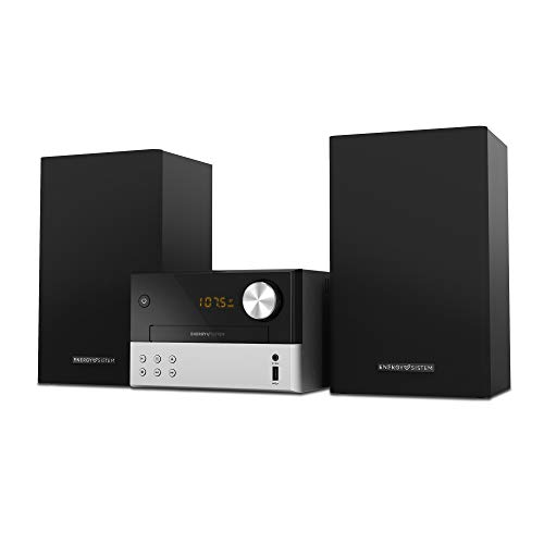 Energy Home Speaker 7 Microcadena con reproducción de CD, USB y Bluetooth (30 W, Radio FM. MP3, Jack 3,5mm)