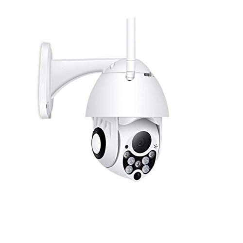 XJJZS La cámara, la cámara 1080P HD Lleno al Aire Libre Seguridad inalámbrica, Inicio de Vigilancia de la cámara, Pan Tilt Zoom Digital, Antena Dual, detección de Alarma