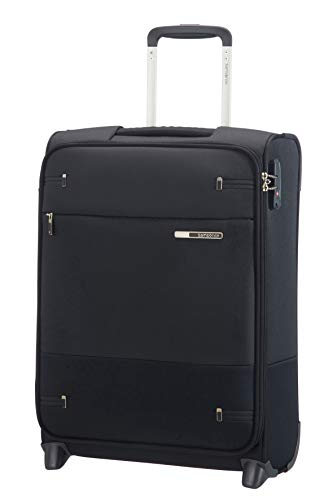 Samsonite Base Boost - Upright S (Länge 40 cm) Handgepäck, 55 cm, 41 L, Schwarz (Black)