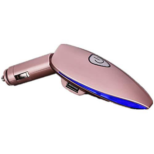 MX kingdom Ambientador para Coche con 2 Puertos USB, para Eliminar el Polvo, Polen, Humo, Malos olores, Ideal para caravanas de autocaravanas y caravanas