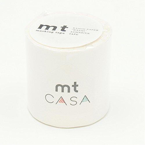 カモ井加工紙 マスキングテープ mt CASA 50mm 50mm幅×10m巻き マットホワイト MTCA5086