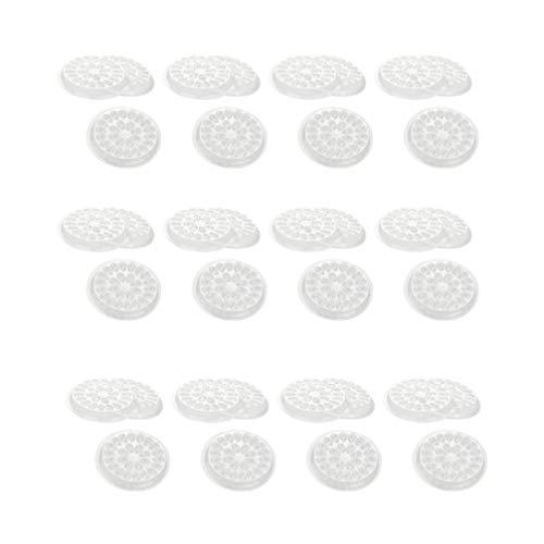 Minkissy Palette de Colle pour Extensions de Cils Cils Joint Base de Support de Pigment Adhésif pour Nail Art Ou Encre de Tatouage 200Pcs