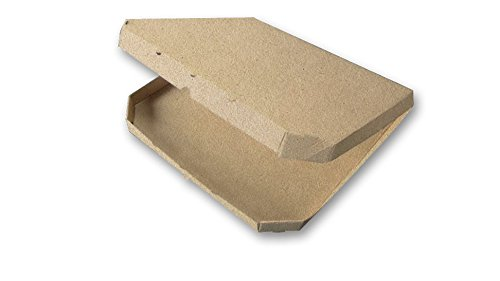 Corrugated Plain Kraft Discount mail order Pizza Max 57% OFF Box 16