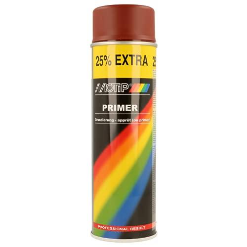 Motip 04055 Apprêt en spray - 500 ml - Rouge