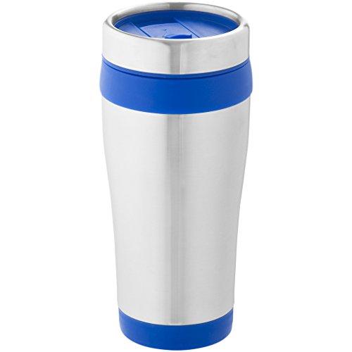 Bullet - Vaso trmico Modelo Elwood (Paquete de 2) (17.6 x 8.3 cm) (Plata/Azul)