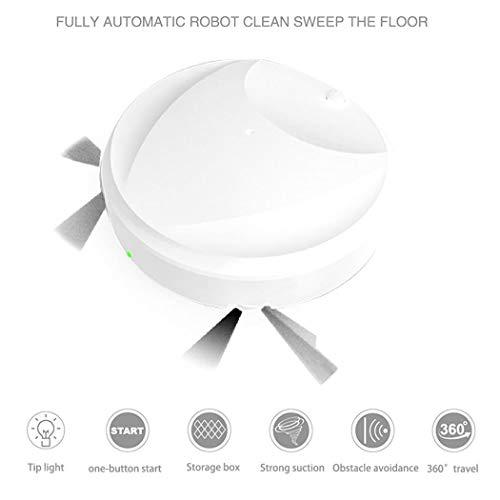 Eroihe Aspiradora Inteligente Barredora Automática Máquina de Limpieza de Pisos