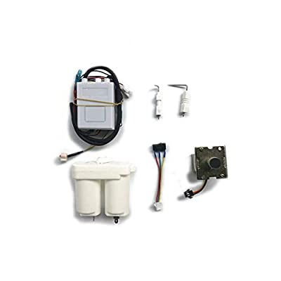 Meter Star Universal Direct-Row Gas Water Heater Pulse Igniter, Flue Type Igniter Controller Water Heater Accessories (Single Ignition Set)