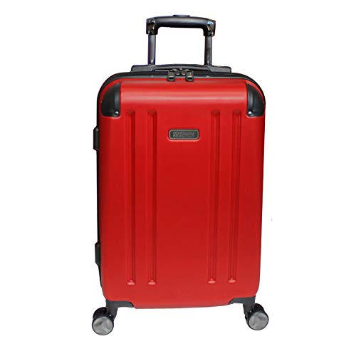 Kenneth Cole Reaction Hardside 20-inch Expandable Spinner Luggage - Red