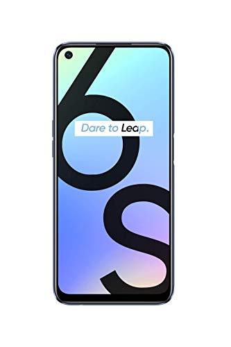 realme 6S Noir Smartphone Débloqué 4G+ - (Ecran : 6,5 Pouces – 4 Go RAM – 64 Go ROM - Double Nano SIM - Android) [Version Française]