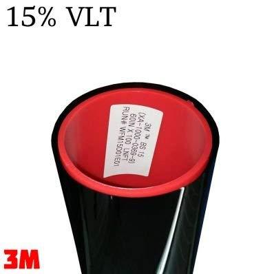 StickersLab StickersLab folie ABG verduisteringsglas serie Black Shade (15%, 50 cm x 1 meter)