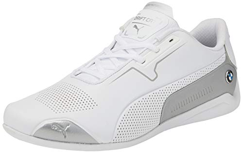 PUMA BMW MMS Drift Cat 8, Zapatillas Unisex Adulto, Blanco (Puma White/Puma Silver), 44 EU