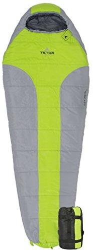 TETON Sports Tracker 5 Lightweight Mummy Sleeping Bag; Great