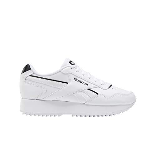 Reebok Royal Glide RPLDBL, Zapatillas de Running Mujer, Blanco/Blanco/Negro, 36 EU