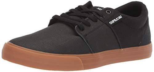 Supra Unisex Stacks Vulc II Sneaker, Schwarz (Black Tuf/Lt Gum 024), 40 EU