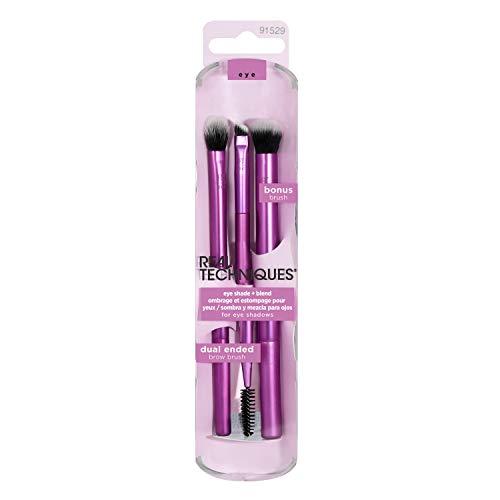Real Techniques Set - Il colore di confezione e maniglia può variare, Confezione da 2 pennelli