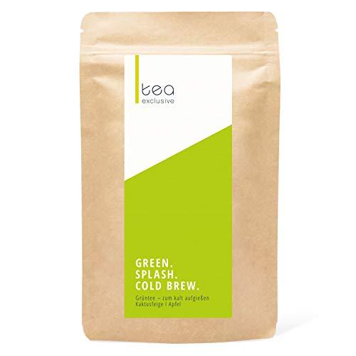 Green Splash, Cold Brew Tee, Grüner Tee & Kaktusfeige, zum kalt aufgießen, perfektes Sportgetränk, 100g - tea exclusive