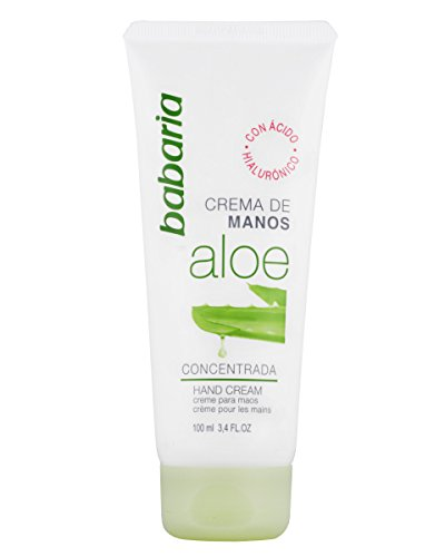 Babaria Crema de Manos Concentrada con Aloe Vera - 100 ml