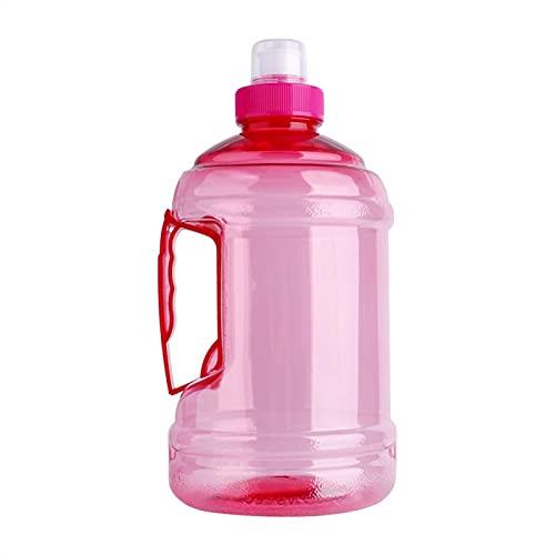 Gran capacidad 2L Big Sport Gym Entrenamiento Fiesta Bebida Botella de Agua Correr Entrenamiento Botella de Agua