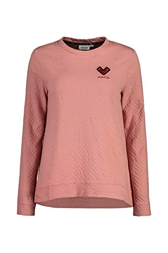 Maloja W Aquilegiam. Pullover Pink, Damen Sweaters und Hoodies, Größe L - Farbe Lotus