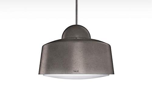 BEST Hostaria Inselhaube/Aluminium Lackiert/Zinngrau/Ø 50 cm (BHS56301SA)