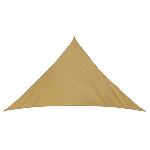 jarolift Sonnensegel Dreieck wasserabweisend, 700 x 500 x 500 cm, Sand